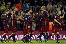 Exhibición del Barcelona camino de la final de la Copa del Rey