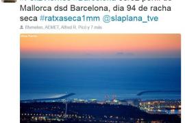 La silueta de Mallorca amanece en Barcelona