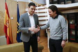 Sánchez rechaza la propuesta de Iglesias de una negociación «exclusiva» y «excluyente»