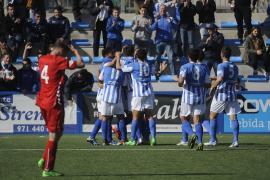 El Atlètic Balears rompe su crisis ante el Pobla de Mafumet