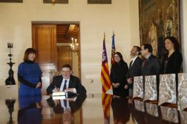 Oltra: «Necesitamos un Gobierno en España que sea aliado con gobiernos de cambios como el de Valencia y Baleares»