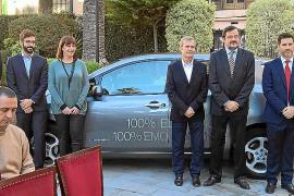 Nissan Nigorra Baleares cedió dos vehículos eléctricos al Govern Balear