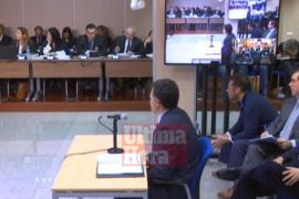 Once personas asisten como público a la segunda jornada del juicio