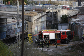 Caos en Barcelona tras ser suspendido el servicio ferroviario de Cercanías