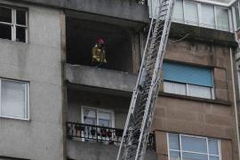 Un muerto y cuatro heridos por una explosión de gas en Vigo