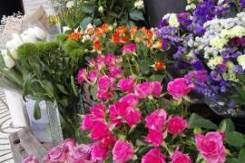 Las floristerías de Mallorca prevén alrededor de un 15% menos de ventas por San Valentín