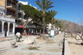 Los hoteleros de Pollença piden posponer al invierno las obras del paseo del Port