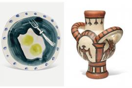 Miguel Bosé vende en Londres cerámicas de Picasso por 370.000 euros