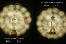 Este jueves y este viernes se podrá ver de nuevo 'La Mare de Déu Il·luminada' en Sant Salvador de Felanitx