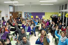 La comunidad escolar de Llubí, en pie de guerra contra el traslado de la Secundaria a Muro