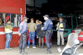 Siete detenidos más por robar coches de los depósitos de Palma y Calvià