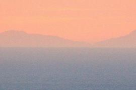 Mallorca se deja ver de nuevo desde el Observatori Fabra de Barcelona