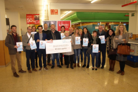 Eroski dona 45.500 euros a 13 asociaciones de ayuda a la infancia en Balears
