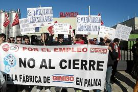 Bimbo no cede y mantiene su plan de cerrar la fábrica de Palma