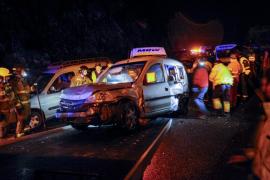 Un accidente en cadena en Ourense causa 25 heridos, uno de ellos muy grave