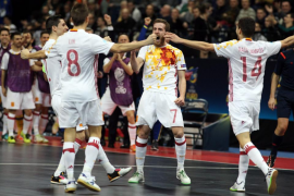 La selección española logra su séptimo Europeo con un deslumbrante Miguelín