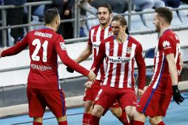 Un Atlético al trote gana gracias a un gol de Torres