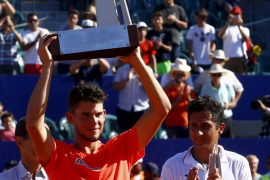 Dominic Thiem, campeón en Buenos Aires tras derrotar a Nicolás Almagro