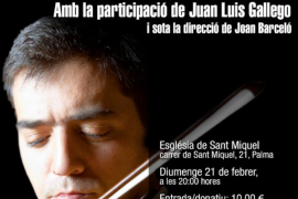 La Jove Orquestra de les Illes Balears actúa a beneficio de 'Mallorca sense fam'