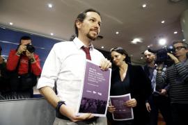 Podemos mantiene la celebración del referéndum en Catalunya en su propuesta de gobierno