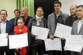 Entrega de premios de la Associació de Periodistes i Escriptors Gastronòmics