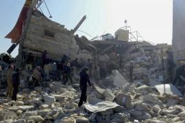 Al menos 23 muertos en ataques contra tres hospitales y una escuela en Siria