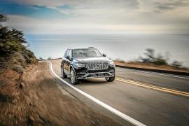 El Volvo XC90 recibe el premio 'El mejor de su segmento 2015' de EuroNcap