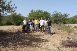 Los ecologistas denuncian graves daños en el camino del Cabàs