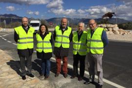 El Consell termina las obras de la rotonda de Son Reus