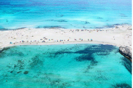 Playa de ses Illetes en Formentera