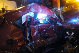 Muere una mujer en un accidente de tráfico en Palma
