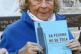 «No vamos a parar de luchar para salvar el monumento de sa Feixina»