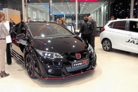Autovidal Balear presentó el potente Honda Civic Type R y el SUV HR-V