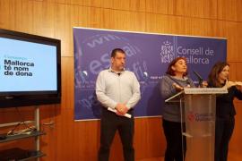 El Consell de Mallorca inicia la campaña  'Mallorca té nom de dona'