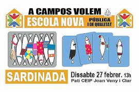 Los padres del Joan Veny i Clar de Campos siguen con las protestas ante la falta de respuesta del Govern