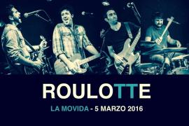 Roulotte recala en La movida con un formato eléctrico de 'Las heridas'
