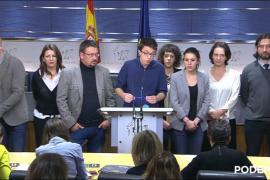 Podemos rompe con el PSOE