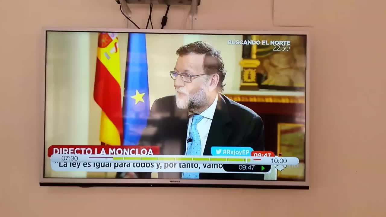 Nuevo lapsus mental de Rajoy: «Somos sentimientos y tenemos seres humanos»