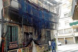 Denuncian el peligro que supone una casa ruinosa en pleno centro de Sóller