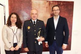 Hila y Pastor se reúnen con Bravo, nuevo jefe de la Policía Local de Palma