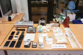 Desmantelada en Palma una organización criminal de tráfico de drogas