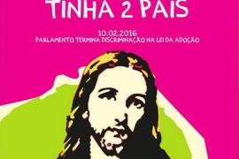 Polémica en Portugal por el uso de Jesucristo en una campaña sobre la adopción gay