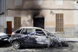 Detenido un joven como presunto autor del incendio de vehículos en Manacor