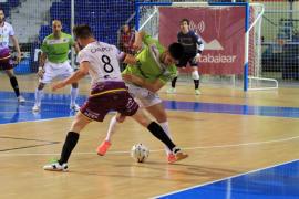 El Palma Futsal sigue imparable y gana al Jaén