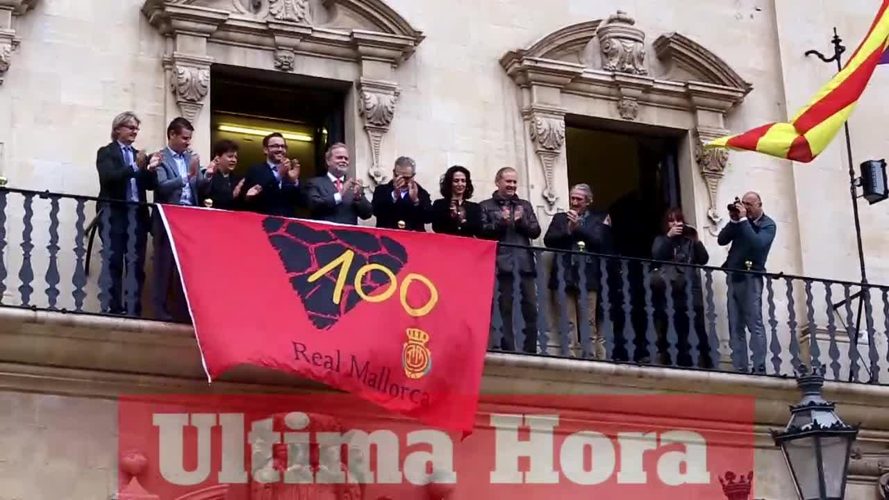 Cort da el 'sus' a los actos de conmemoración del centenario del Real Mallorca