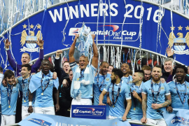 Las paradas de Caballero le dan la Copa de la Liga al Manchester City en los penaltis