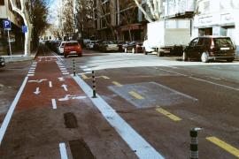 El nuevo carril bici del camí de Jesús ya está operativo