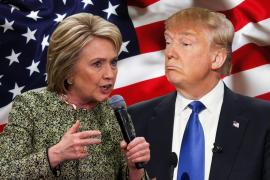 Trump y Clinton, favoritos de las encuestas en víspera del supermartes