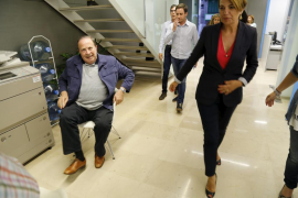 El actual follón del PP podría propiciar que Rodríguez vuelva a presentarse como candidato a Palma