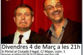 Risas en el Ciutadà Il·legal con 'Quan el teatre es converteix en festa'